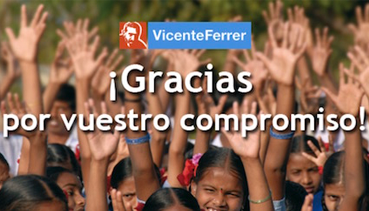 Committed to the Vicente Ferrer Foundation