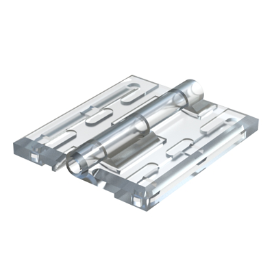 Transparent hinge