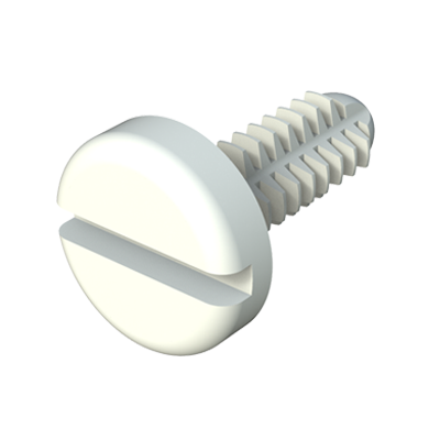 Spin clip - Slotted pan screw