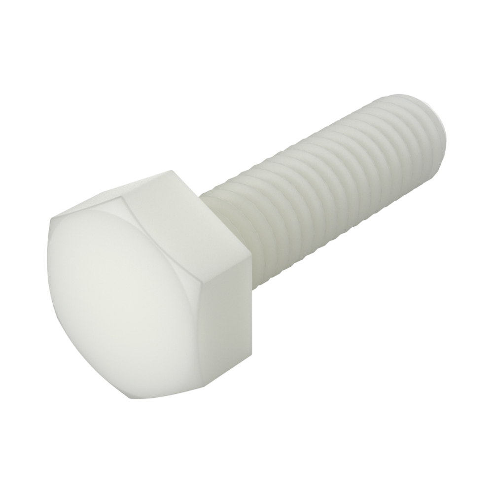 Hexagonal unslotted head screw