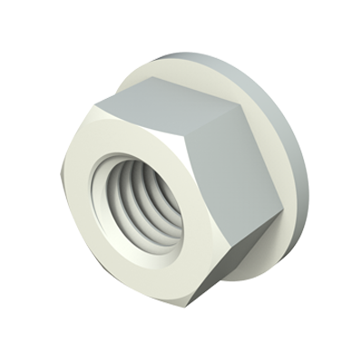 Hexagonal flange nut