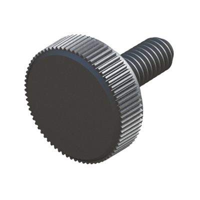 Round head screw
